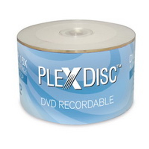 PlexDisk DVD-R 16X Recordable 4.7 GB / 50 Pack