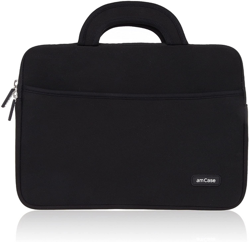 11.6 to 12 inch Carrying Case with Handle-Black
