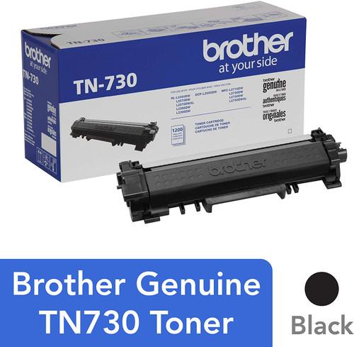 Brother Genuine Standard Yield Toner Cartridge, TN730