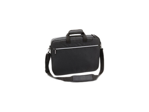 """TOSHIBA Black with silver accents 16"""" Lightweight Carrying Case"""