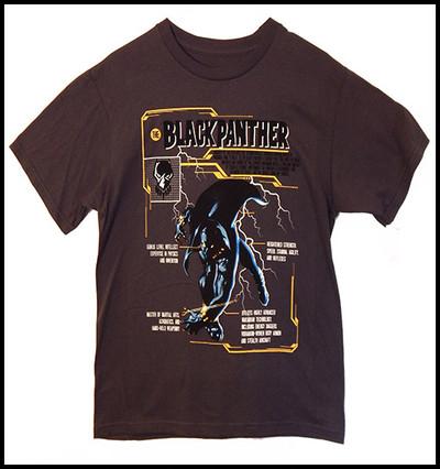 Black Panther Gray shirt