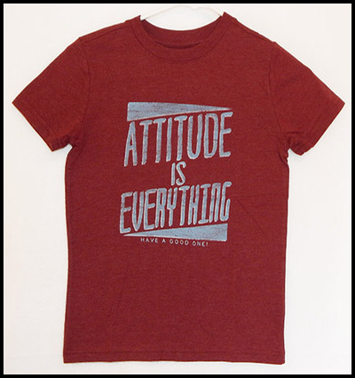 Attitude is Everything shirt