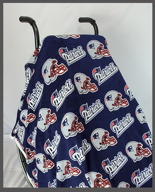 Patriots- Fleece Wheelchair Poncho