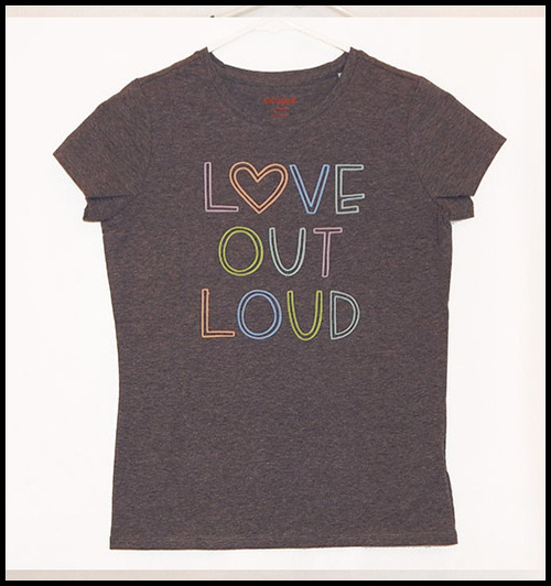 Love Out Loud shirt