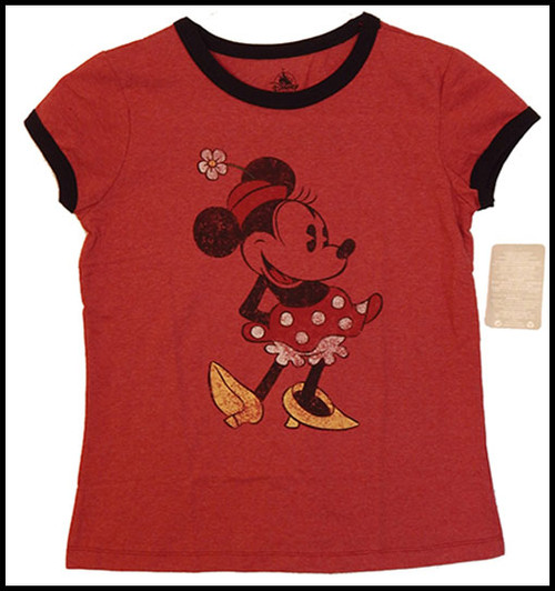 Vintage Minnie Red shirt