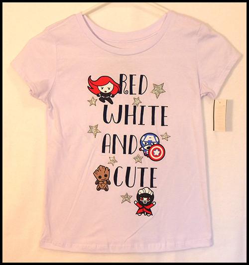 Red, White, & Cute shirt