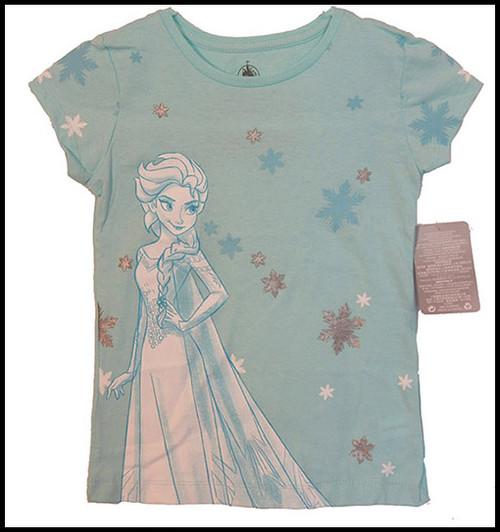Elsa Snowflakes shirt