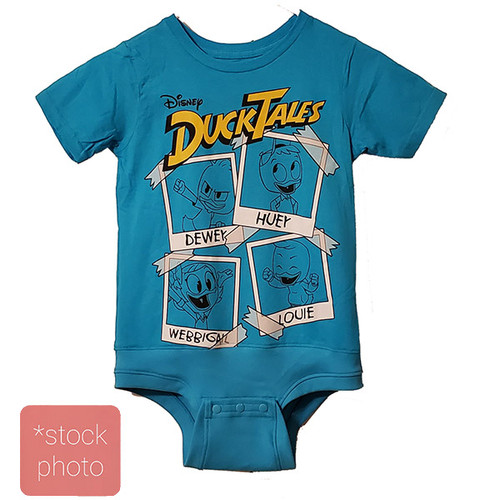 Duck Tales - Boys sz 10/12 Body Suit- (Altered T-shirt)