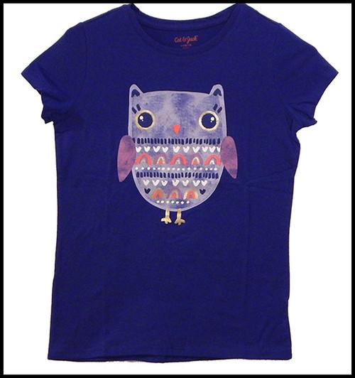 Owls on Purple shirt