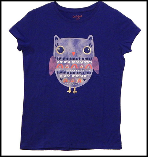 Owl on Purple shirt