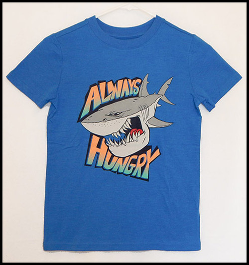 Always Hungry - Boys sz 16 Body Suit- (Altered T-shirt)