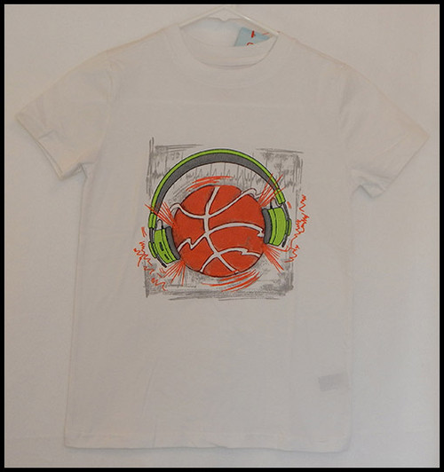 Basketball Headphones shirt
