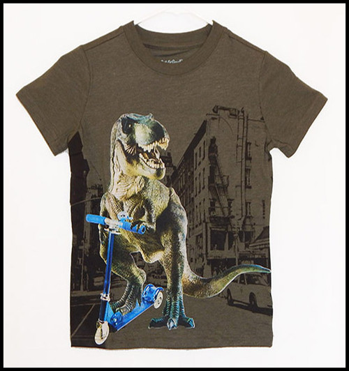 Dino Scooter shirt
