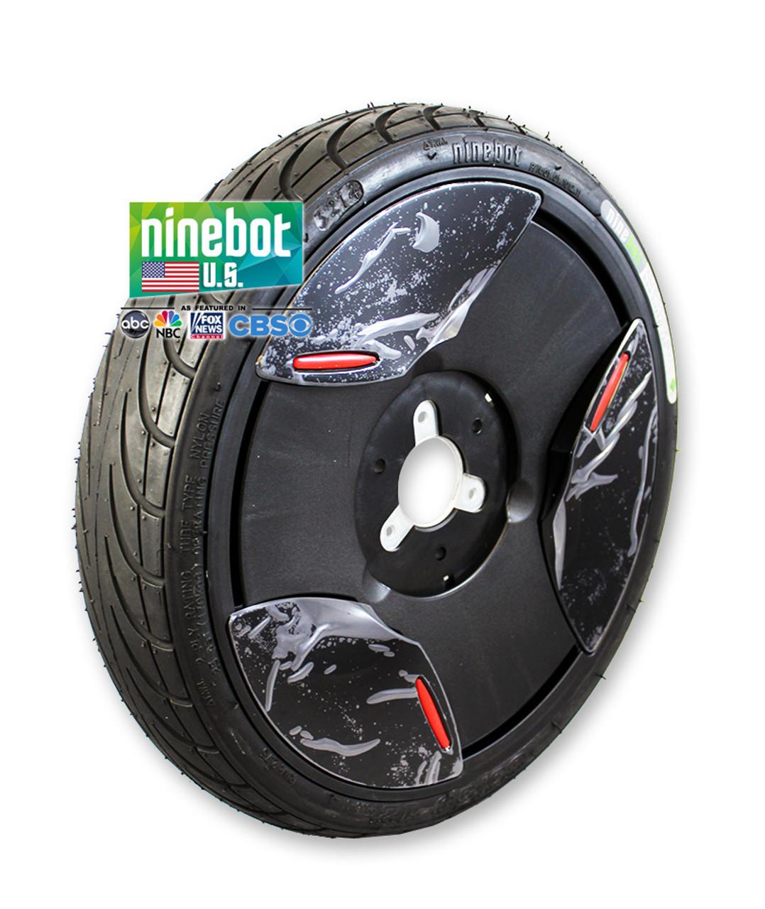 Tire Assembly / Black - Ninebot E (Elite)