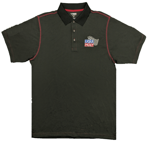 Original Logo Carbon Fiber Pattern Polo Shirt