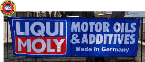Liqui Moly Fabric Banner