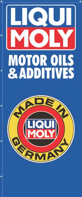 """Vertical Liqui Moly Shop Banner 56"""" x 134"""""""