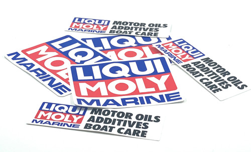 Liqui Moly Marine Sticker pack
