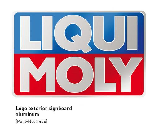 Liqui Moly Aluminum Sign