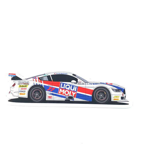 Liqui Moly Race Car Sticker
