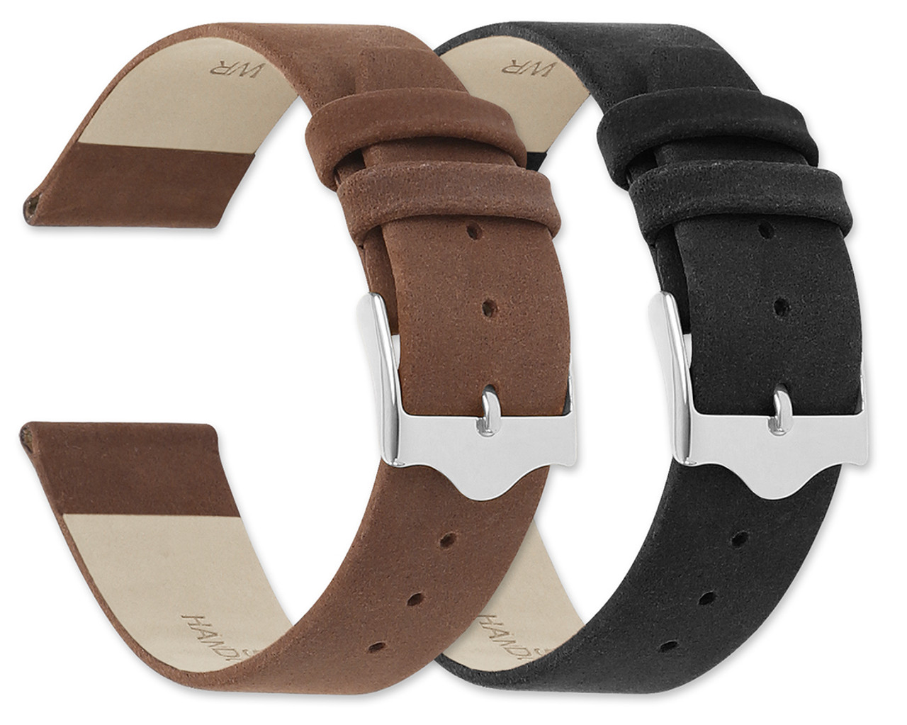 c6f2c1379a7 suede leather replacement watch band