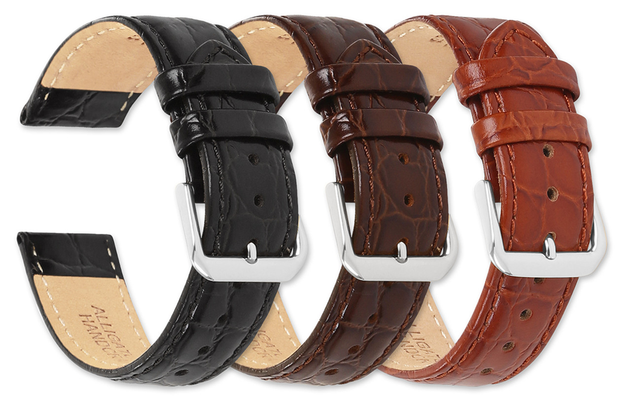 65545bb93 Alligator Grain Watch Band-Fits Huawei Fit