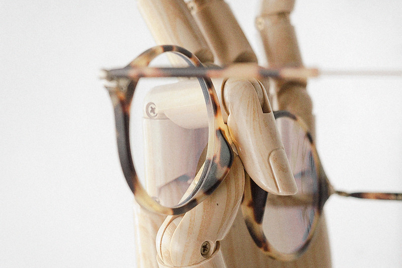 Spectacle Frame, Tortoiseshell and Gold