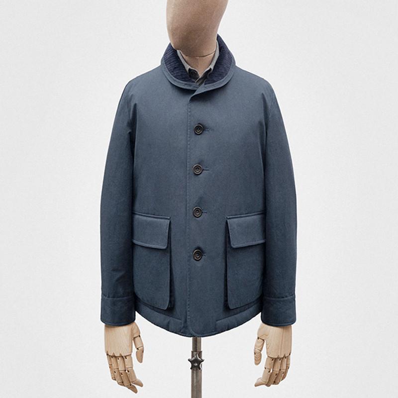 Tour Jacket, Marine Blue