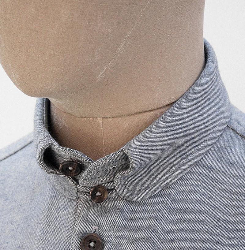 Kelly Collar Shirt, Blue