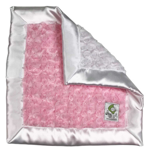 Shnuggy Blanket Pink and White