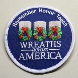 Wreaths Across America Patch