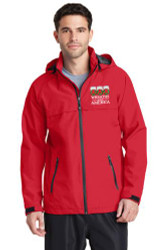 Wreaths Across America Logo Jacket RED
