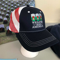 Flagged Mesh Cap