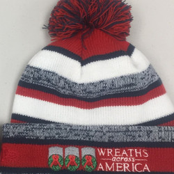 Be An American Worth Fighting For RWB Pom Beanie