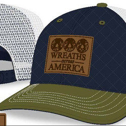 WAA Leather Patch Hat
