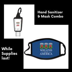 Wreaths Across America- Mask & Hand Sanitizer Combo