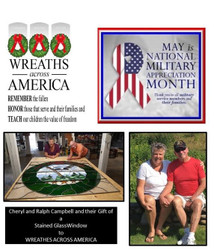 Gold Star Mothers House Donation | ILF, Ralph Campbell