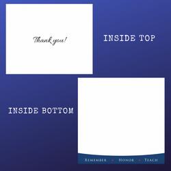 WAA Thank You Card / Envelope Combo (15)