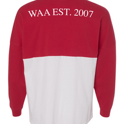 WAA Red Game Day Shirt   EST. 2007