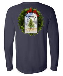 2021 Theme Long Sleeve T-Shirt | Navy