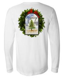2021 Theme Long Sleeve T-Shirt   White