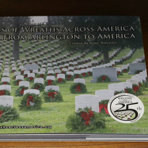 Limited Edition Commemorative Book: 25-years of Wreaths Across America (with wreath sponsorship)