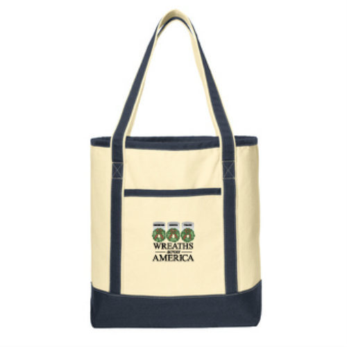 New! Small Canvas Tote Bag