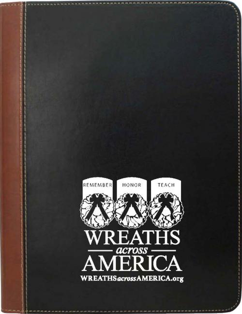 Wreaths Across America Padfolio