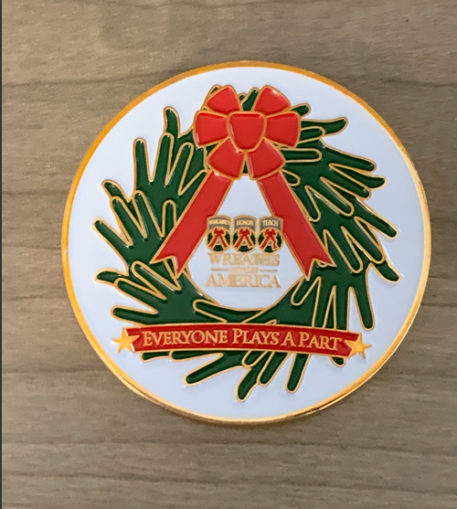 WAA Challenge Coin Everyone Play's A Part
