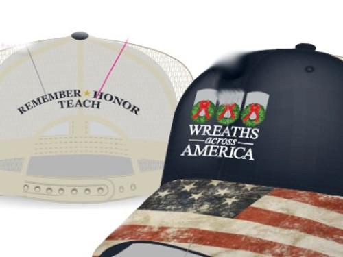 American Flag Brim WAA 2020 Theme Cap