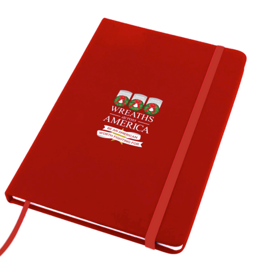 Red 2020 Themed  5x7 Notebook