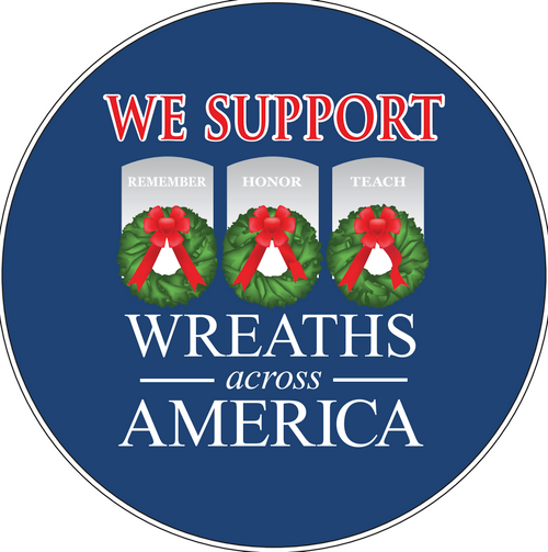 We Support WAA patch decal