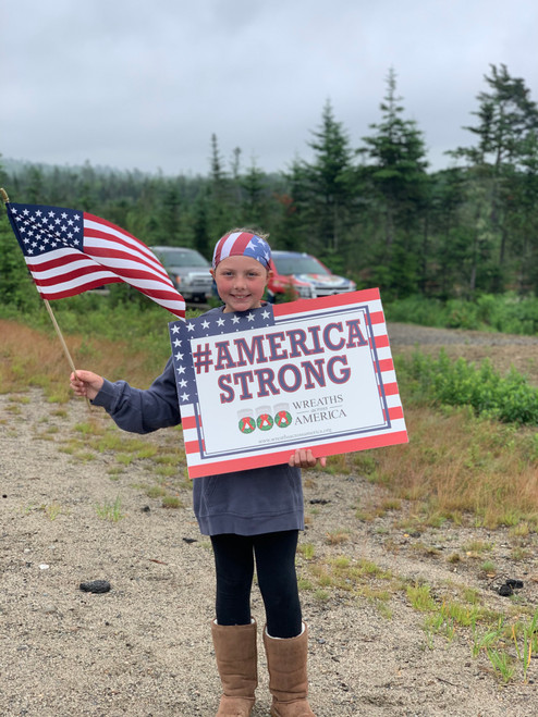 #AmericaStrong Sign