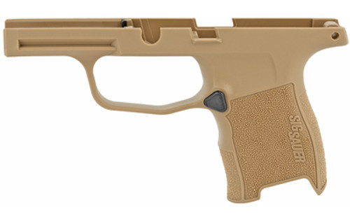 Sig Sauer P365 Grip Module Assembly, Coyote Finish, NO MANUAL SAFETY